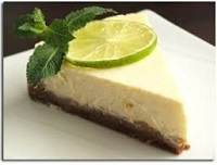 Cheese-cake avocat-citron vert