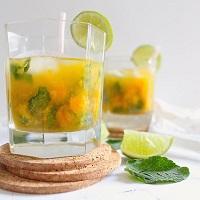 Mojito à la mangue (avec ou sans alcool)