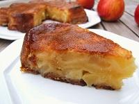 Moelleux caramélisé aux pommes